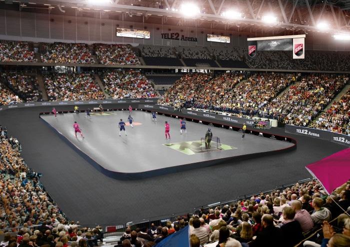Tele2 Arena blir värd för SM-finalen i innebandy
