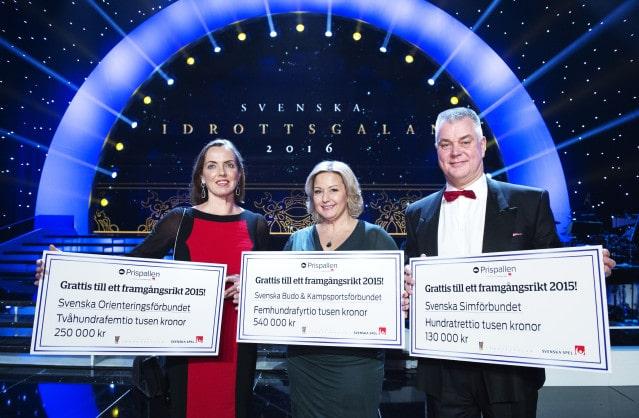 Svenska Spel uppmärksammar svenska pallplatser