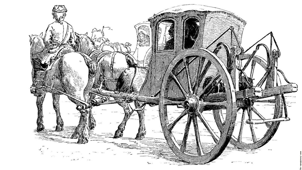Taxi Göteborg kör häst och vagn