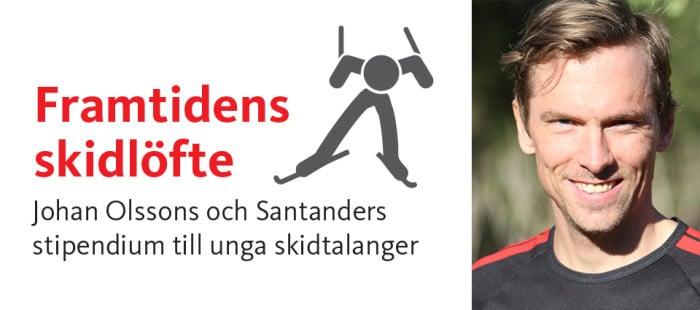 Johan Olsson startar stipendium – Framtidens skidlöfte