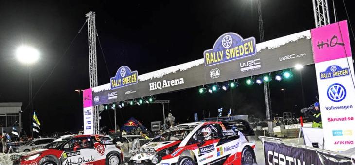 HiQ sponsrar Rally Sweden – skapar arena för innovation och möten