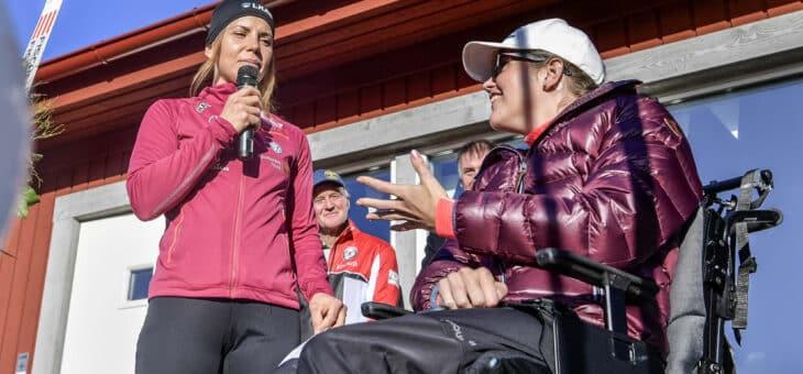 SCA sponsrar Charlotte Kalla och Anna Holmlund