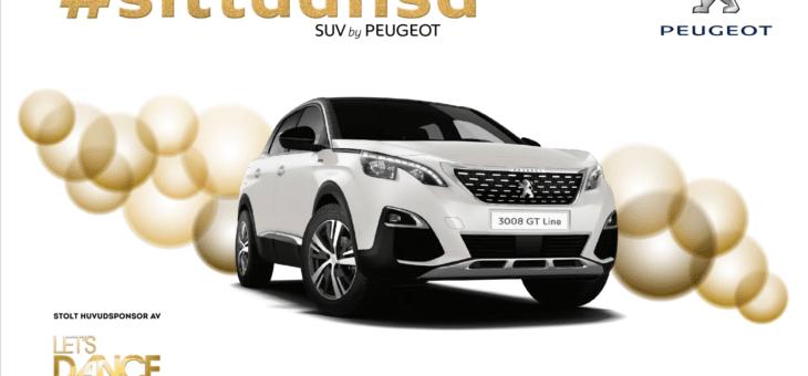 Peugeot förlänger med Let's Dance