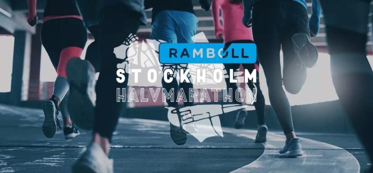 Ramboll blir titelsponsor till Stockholm Halvmarathon