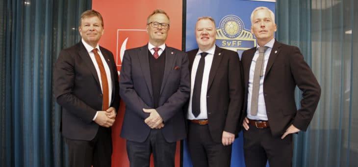 Svenska Spel förlänger med Svenska Fotbollförbundet