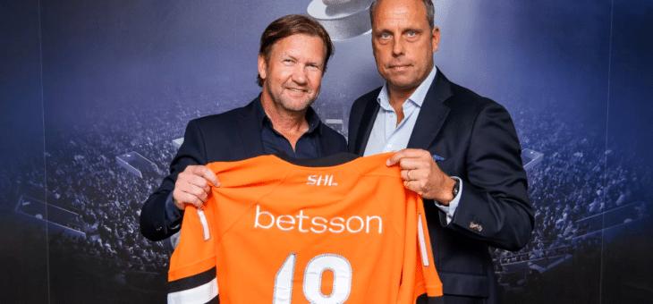 """Betsson huvudsponsor till SHL: """"Vi vill vara den mest engagerande partnern hittills"""""""