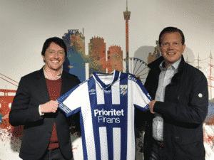 Prioritet Finans är ny stjärnsponsor till IFK Göteborg Futsal.