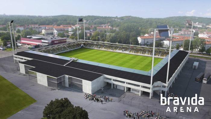 BK Häckens arena får heta Bravida Arena