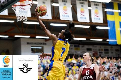 SJ och svensk basket förlänger samarbetet