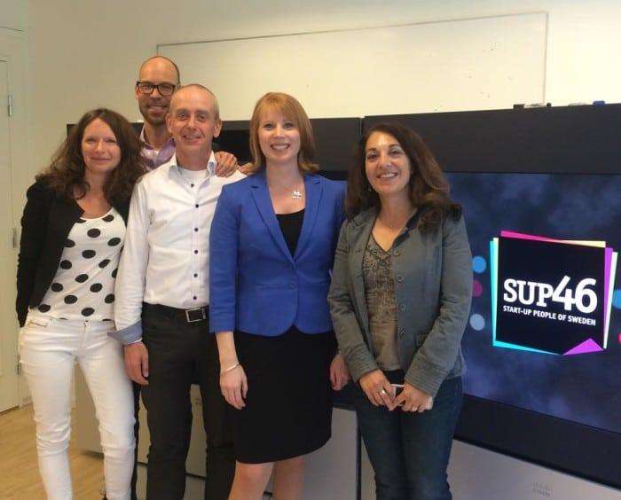 Grant Thornton ny samarbetspartner till startuphubben SUP46