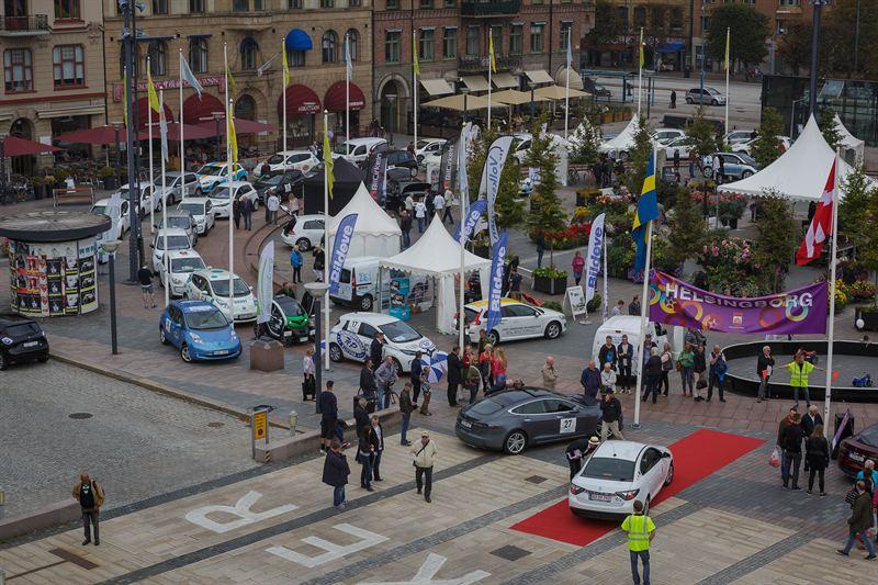 ABB sponsrar elbilsrally