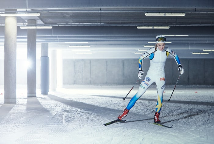 Stina Nilsson blir Intersports ansikte utåt i reklamen