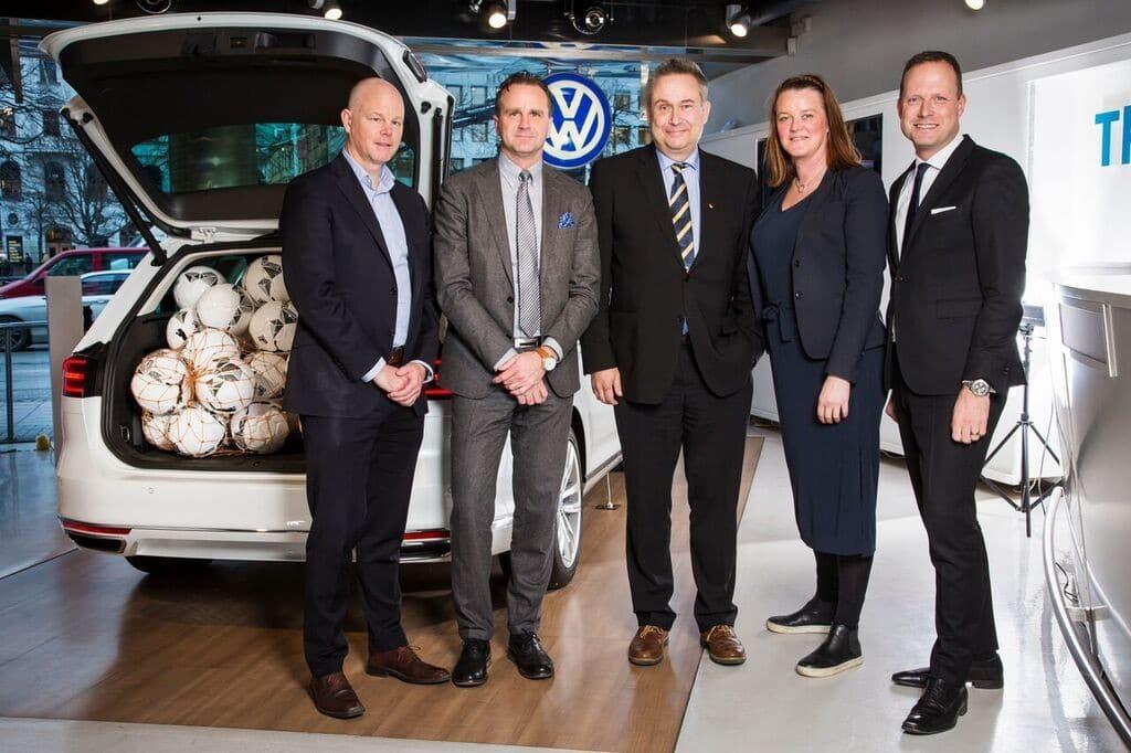 Volkswagen ny sponsor till Allsvenskan och Superettan