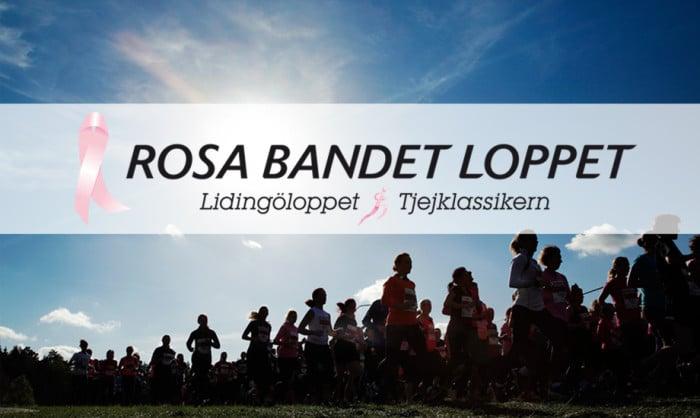 Lidingö Tjejlopp blir Rosa Bandet-loppet