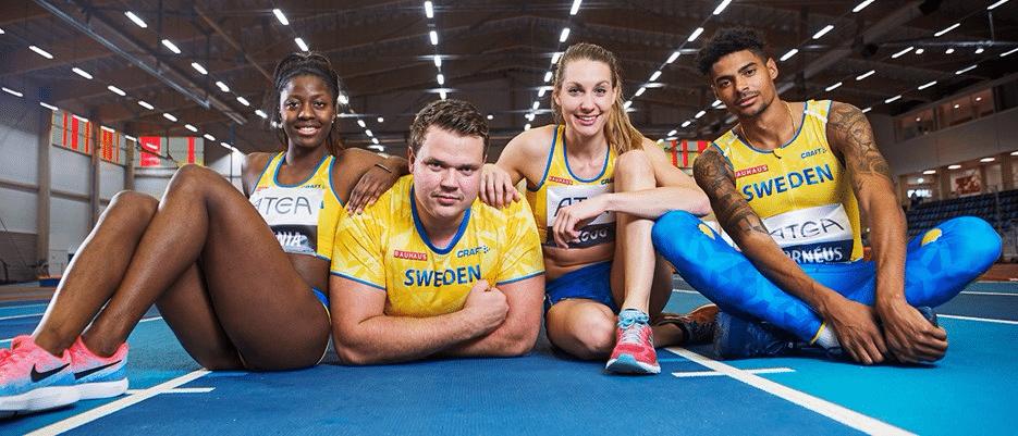 Team Atea utökas – företaget växlar upp samarbetet med svensk friidrott