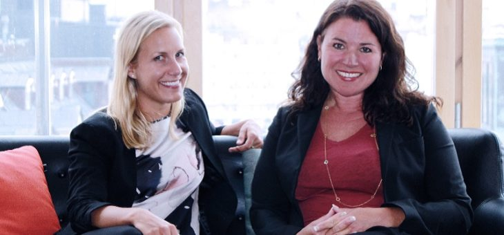 Ulrika Molin och Victoria Jansson till Sponsrings & Eventföreningen