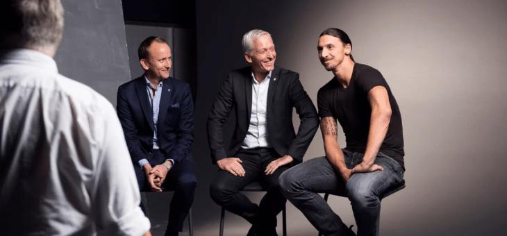 Volvo Car Sverige förlänger med SvFF – instiftar nytt stipendium med Zlatan som beskyddare