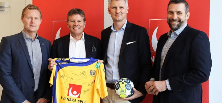 Svenska Spel förlänger med svensk handboll i ytterligare 3 år