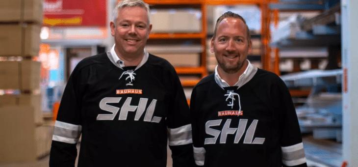 BAUHAUS ny sponsor till SHL – ska starta upp hockeyskola för alla SHL-klubbar