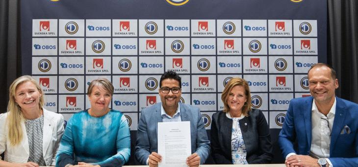 OBOS blir titelsponsor till Damallsvenskan