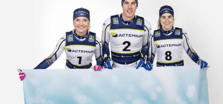 Längdlandslaget och Actemium Sverige förlänger till 2024